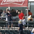 Indians fan makes great one-handed catch with bare hand (Video)