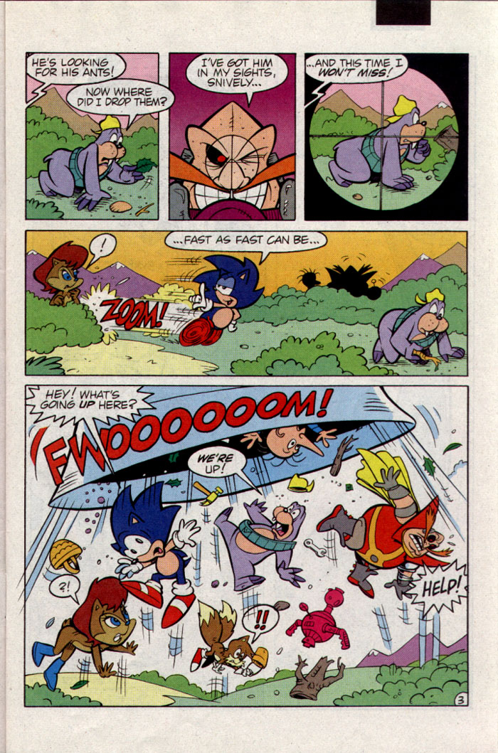 Read online Sonic The Hedgehog comic -  Issue #23 - 4