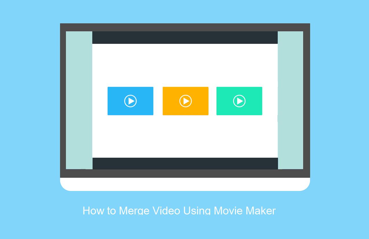 Membuat video jadi satu movie maker