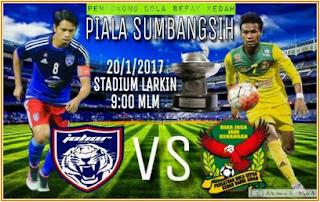 Sayfiq Rahim vs Badrol Bakhtiar, JDT vs Kedah, Piala Sumbangsih 2017