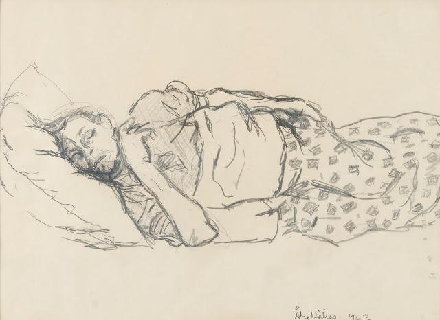 Åke Mattas, sleeping (1962)