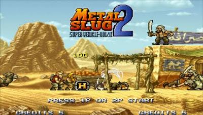Metal Slug 2 PSP PPSSPP Update New