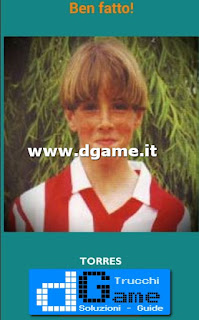 Soluzioni Guess the child footballer livello 12