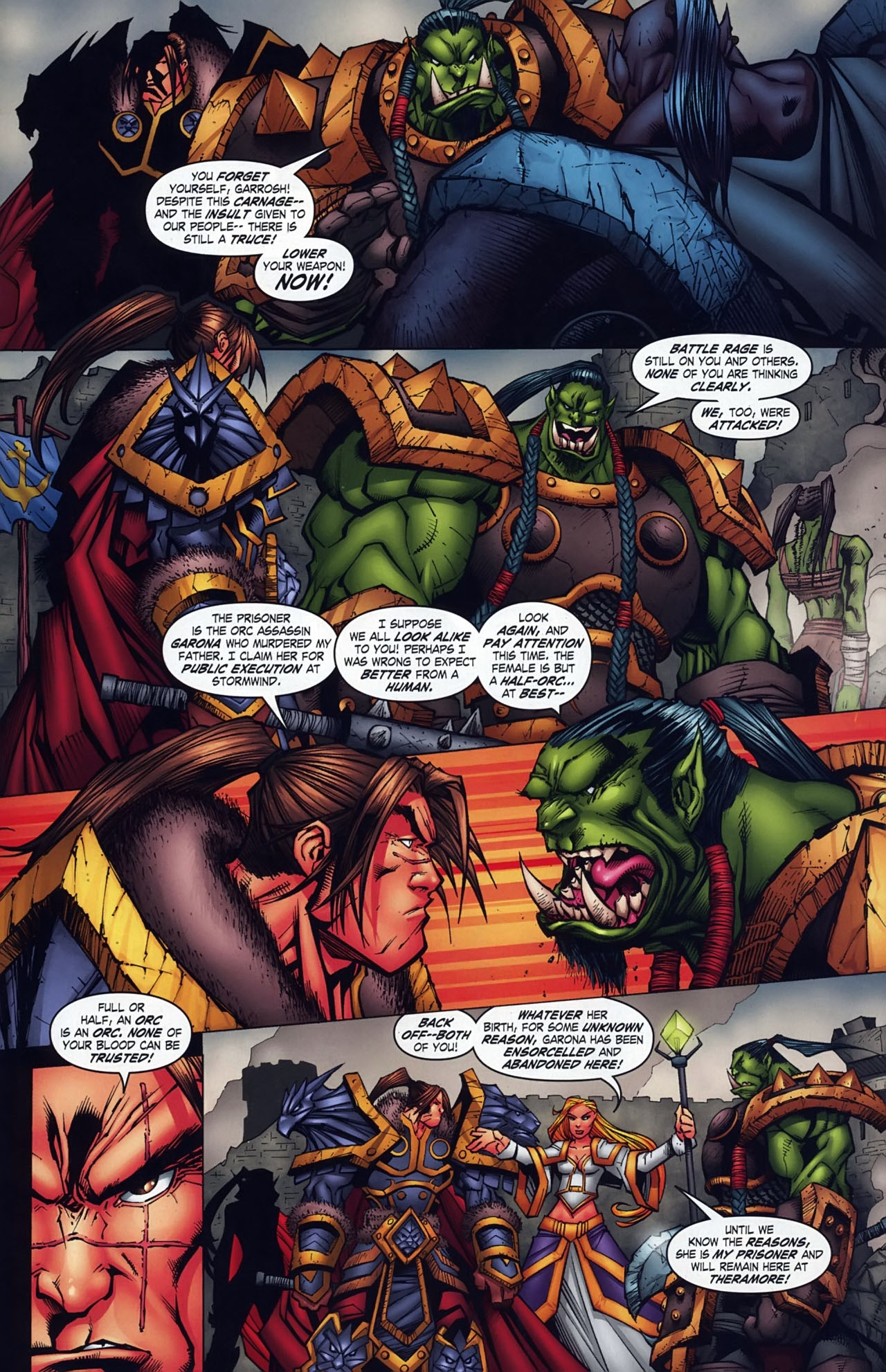 Read online World of Warcraft comic -  Issue #18 - 14