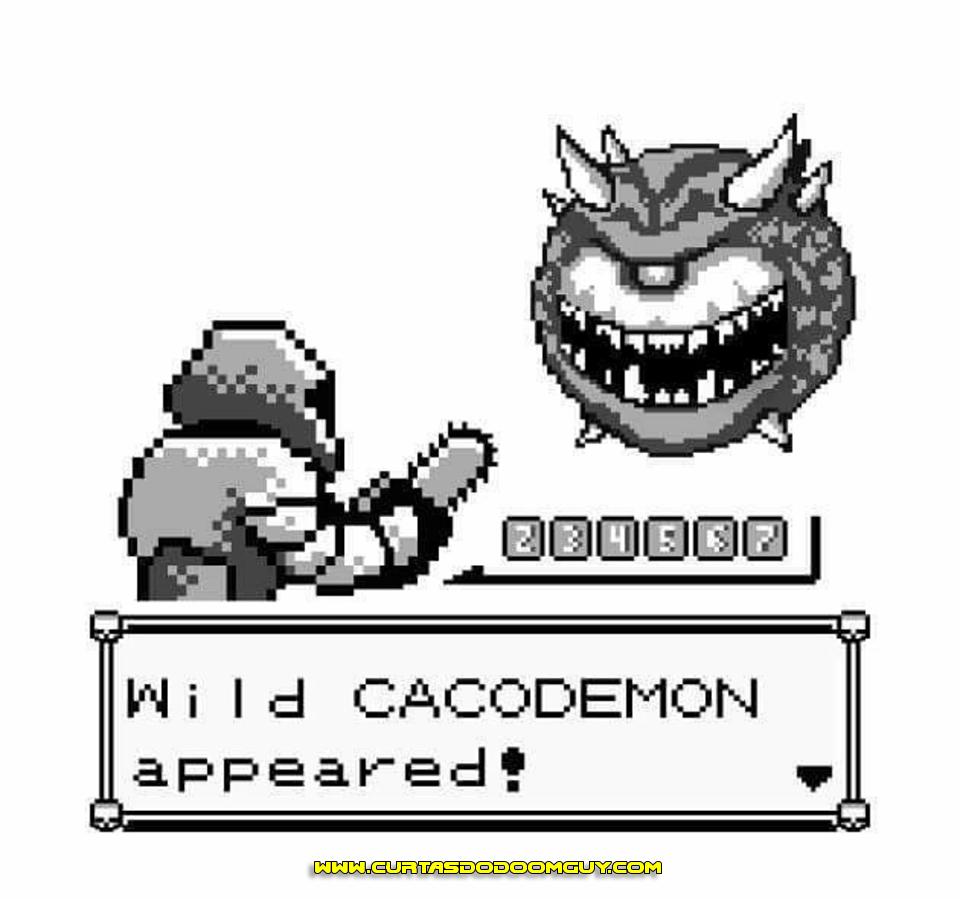Cacodemon selvagem no Pokémon