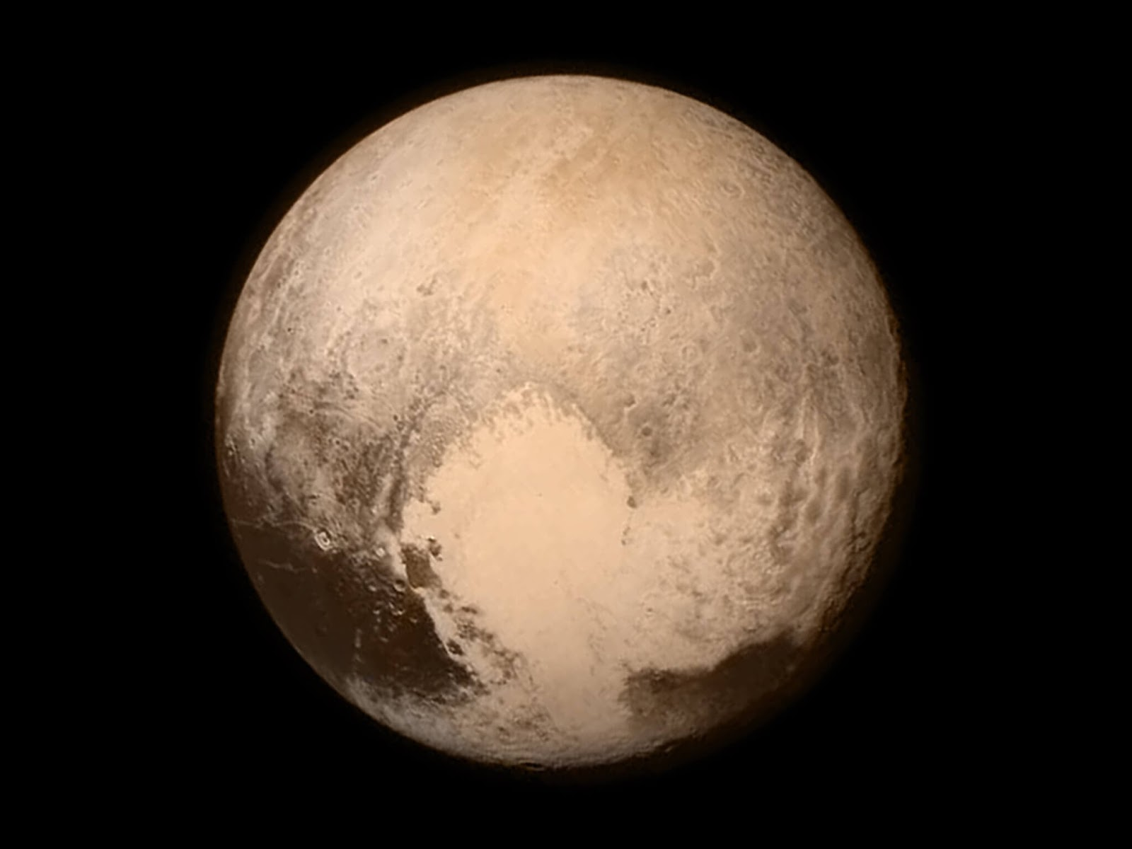 Pluto real pic