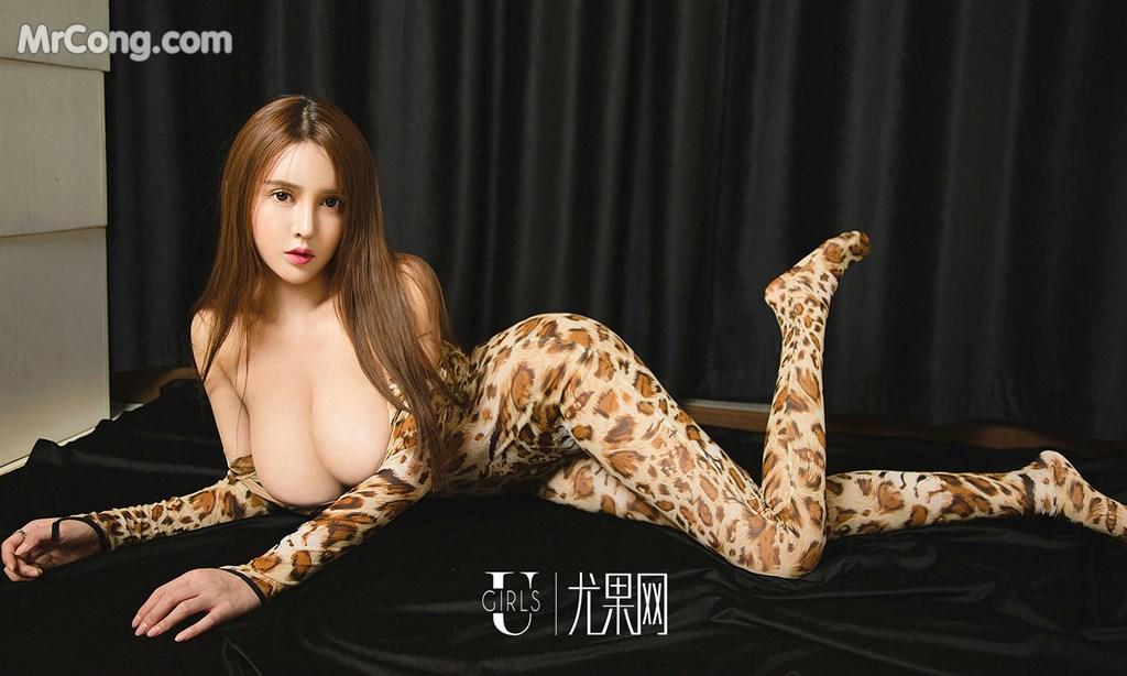 Image UGIRLS-Ai-You-Wu-App-No.1327-Bai-Yi-Han-MrCong.com-034 in post UGIRLS – Ai You Wu App No.1327: Người mẫu Bai Yi Han (白一晗) (35 ảnh)