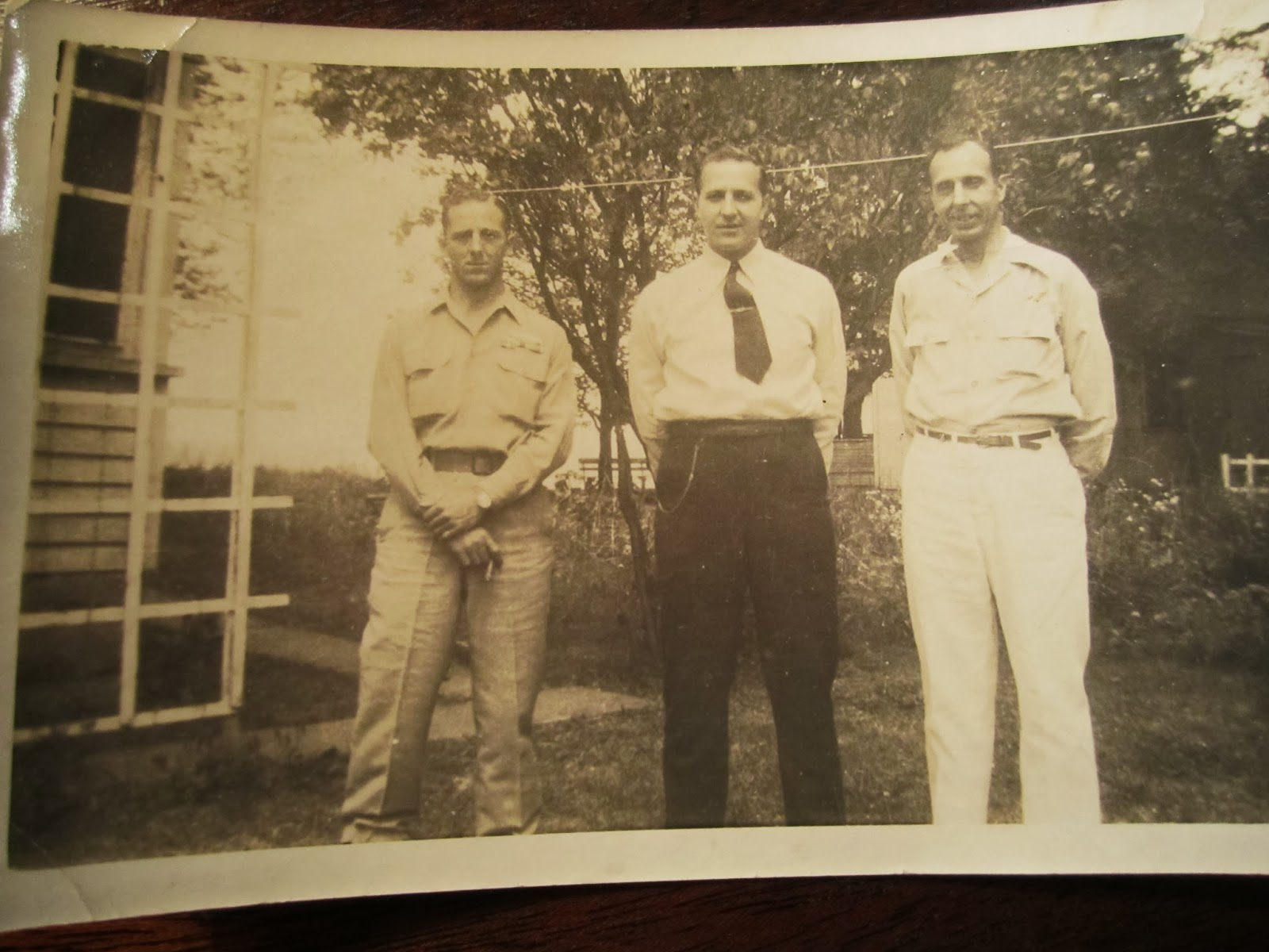 Climbing My Family Tree: Don, Paul, and Clarence Snyder 1945