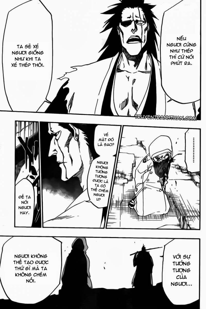 Bleach chapter 573 trang 17