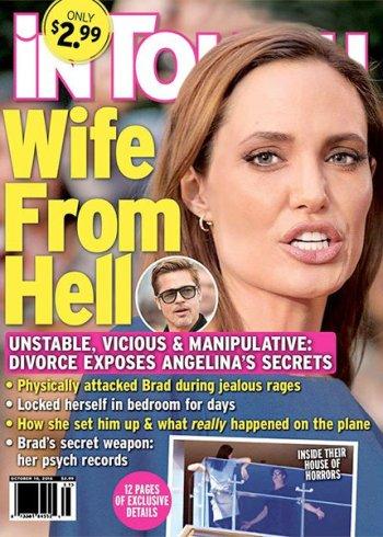 Angelina Jolie divorce feud