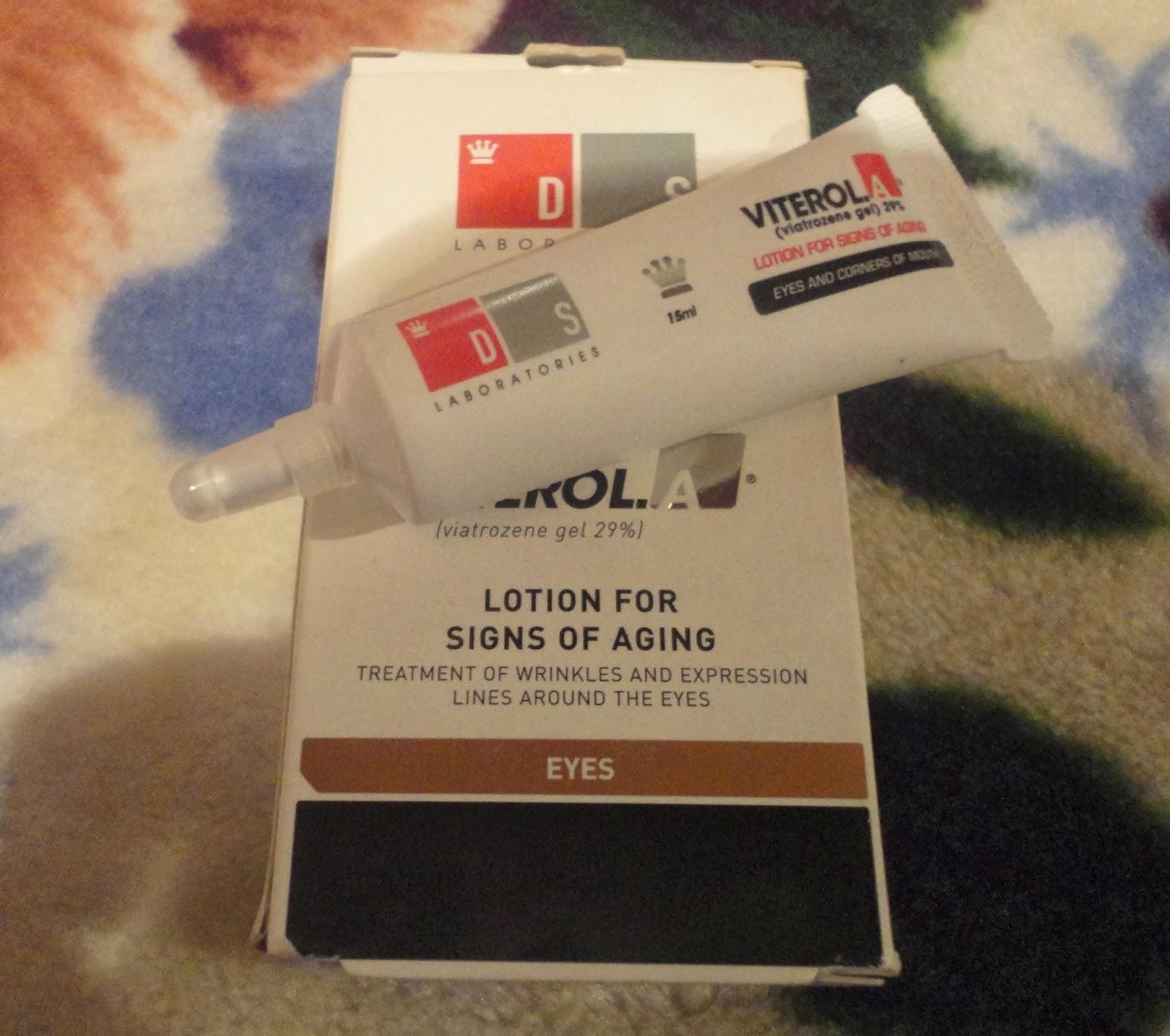 Eco cosmetics: Viterol.A Eyes Околоочен крем против бръчки