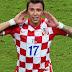 Mario Mandzukic from Croatian National Football Team