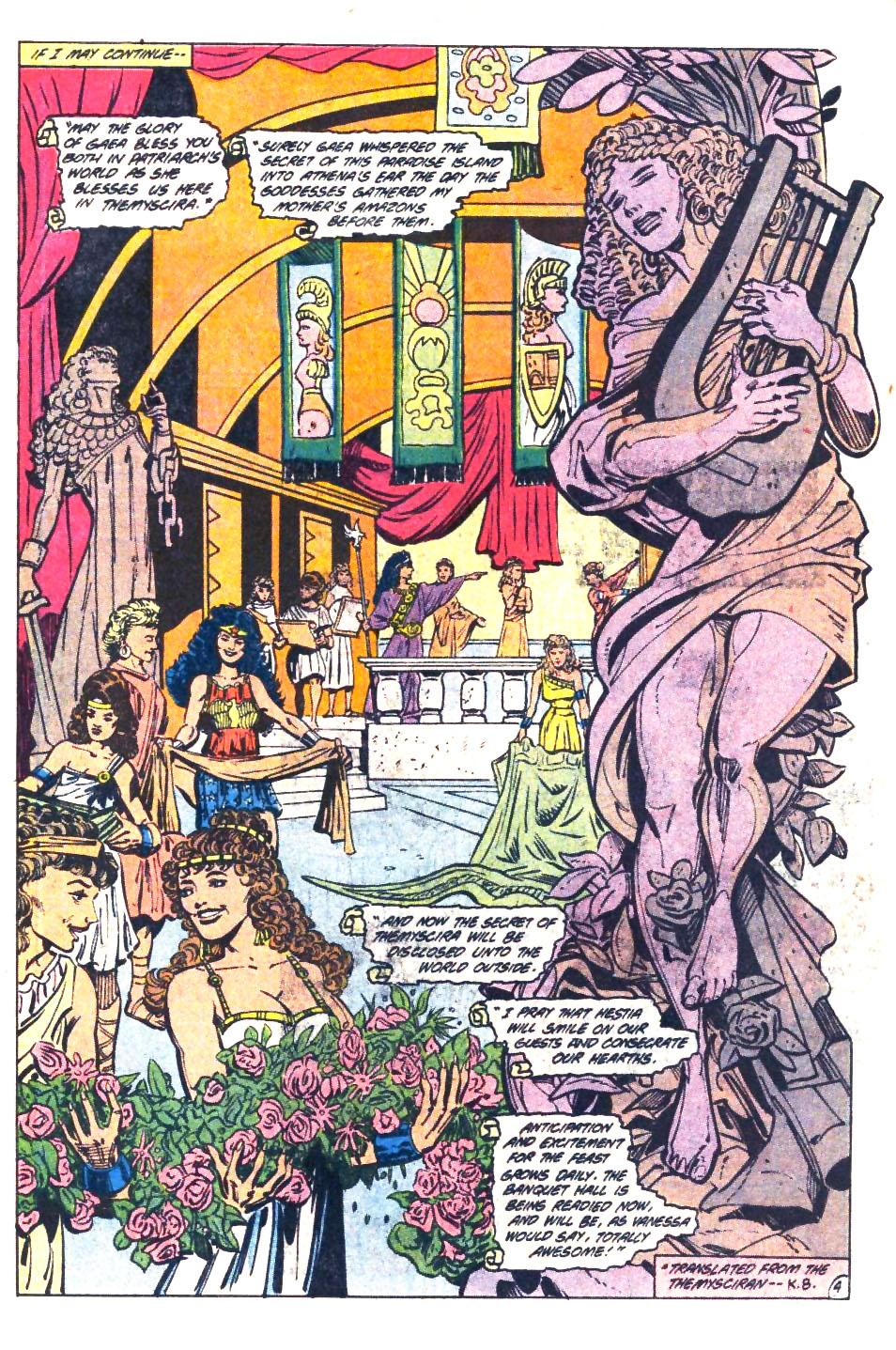 Read online Wonder Woman (1987) comic -  Issue #36 - 5