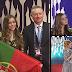 [IMAGENS] JESC2018: Rita Laranjeira na Cerimónia de Abertura do Festival Eurovisão 2018