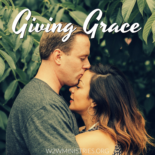 Giving Grace #marriage #marriagemonday #grace #husband #wife