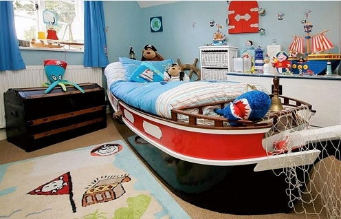 erkek çocuk odası tasarımları