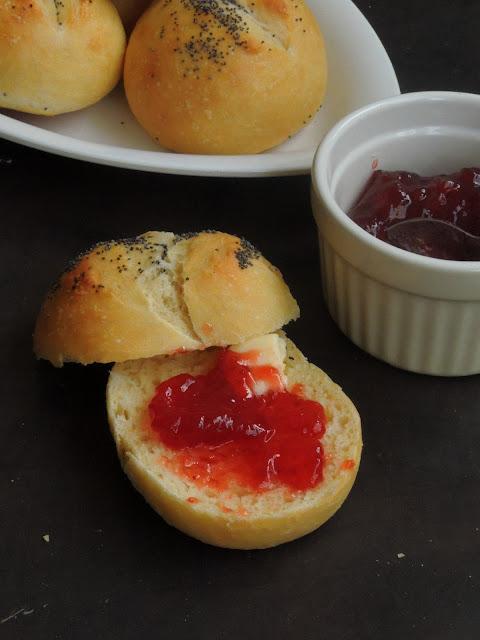 Danish Breakfast Bread Rolls