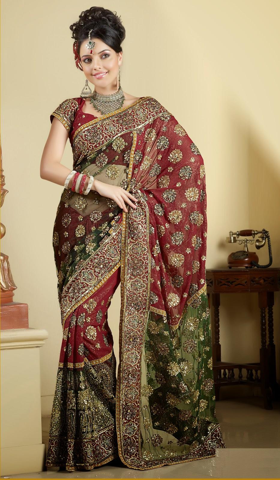Indian Desi Females In Saree Full Hd  Photo Chocolate-3193
