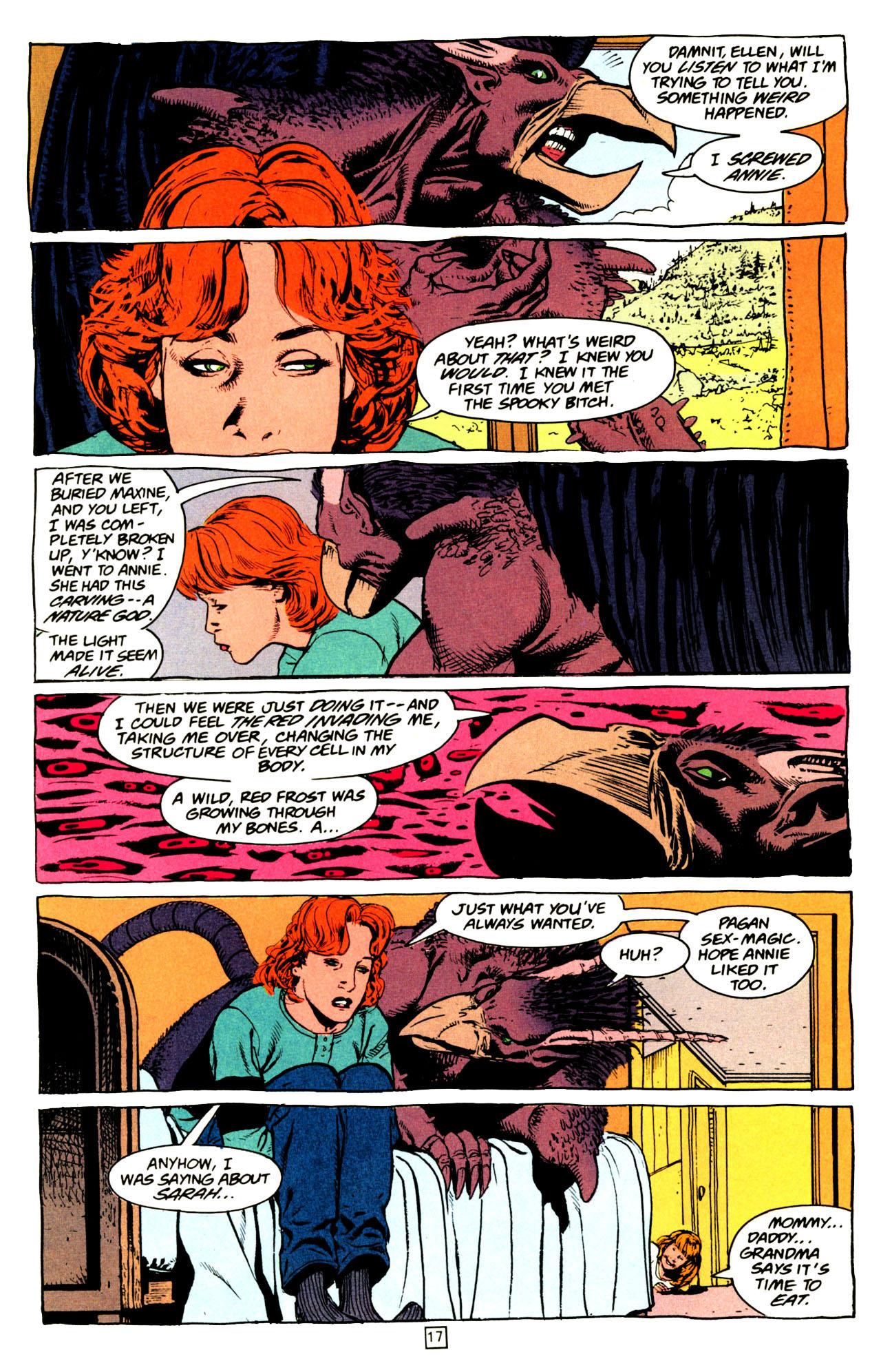 Read online Animal Man (1988) comic -  Issue #72 - 18