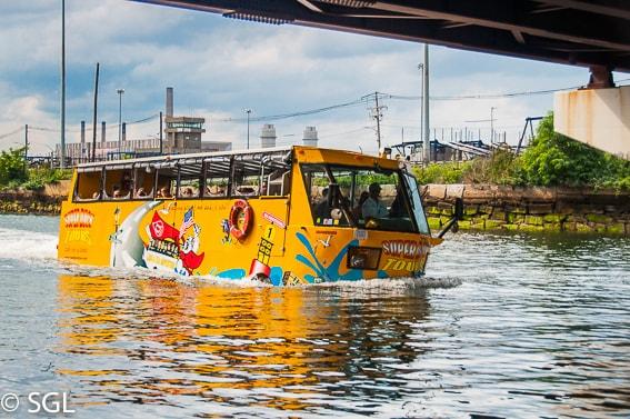 Navegando con el Boston Duck