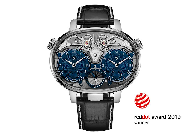 Armin Strom Dual Time Resonance Red Dot Award 2019