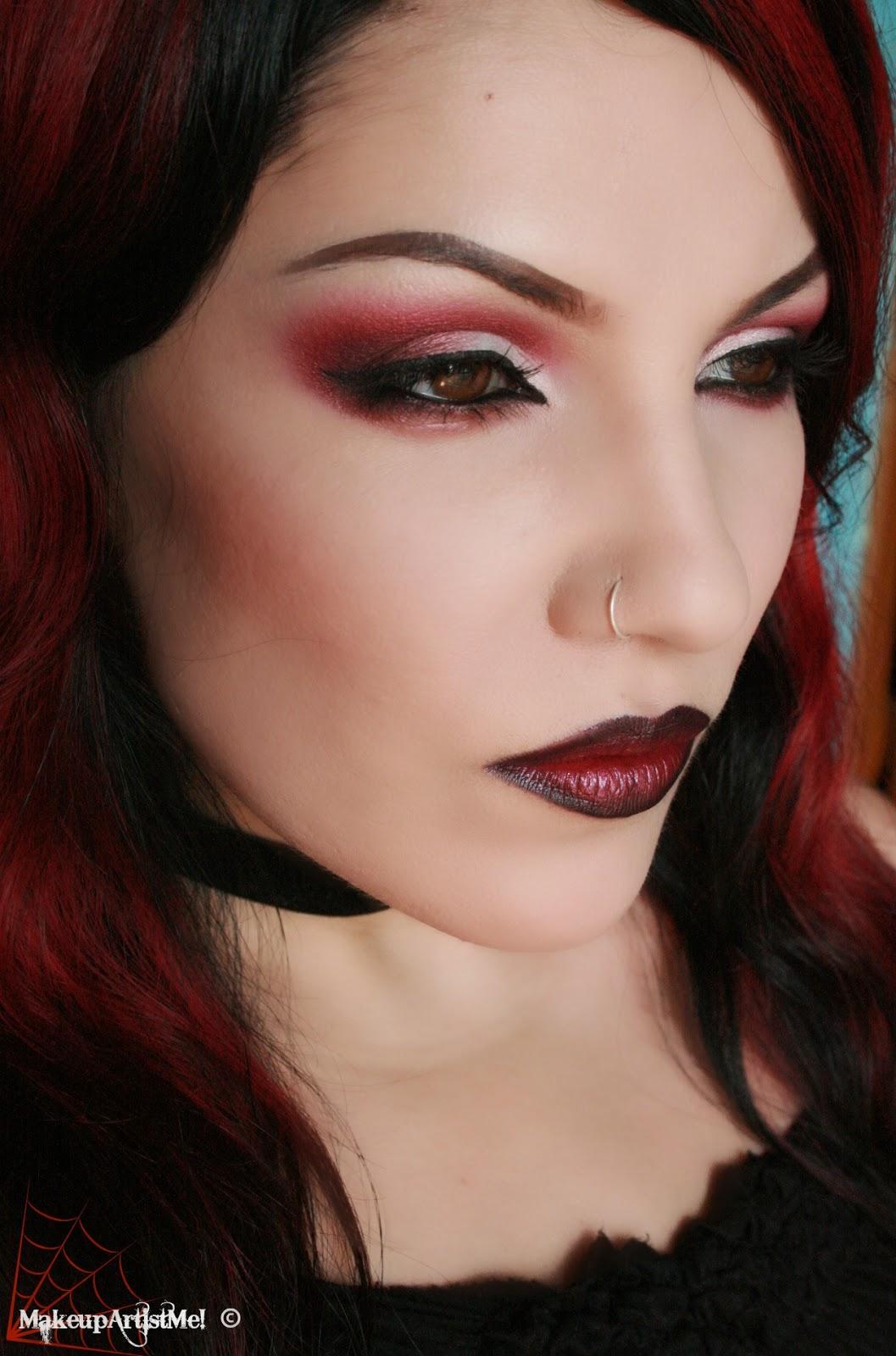 Makeup Ideas For Beginners: Make-up Artist Me!: Daring! Red Eyeshadow Makeup Tutorial