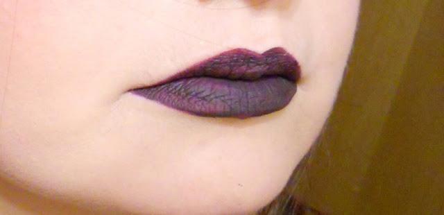 prova Black Currant sulle labbra L. A. Girl