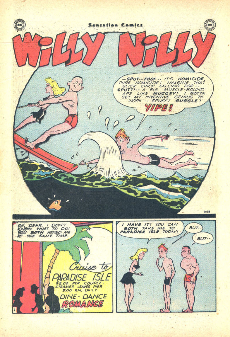 Read online Sensation (Mystery) Comics comic -  Issue #68 - 24
