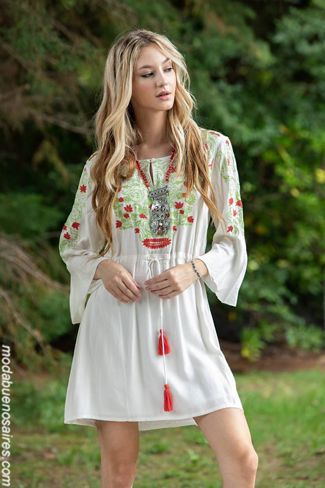 Moda otoño invierno 2019 ropa de mujer. Vestidos otoño invierno 2019.
