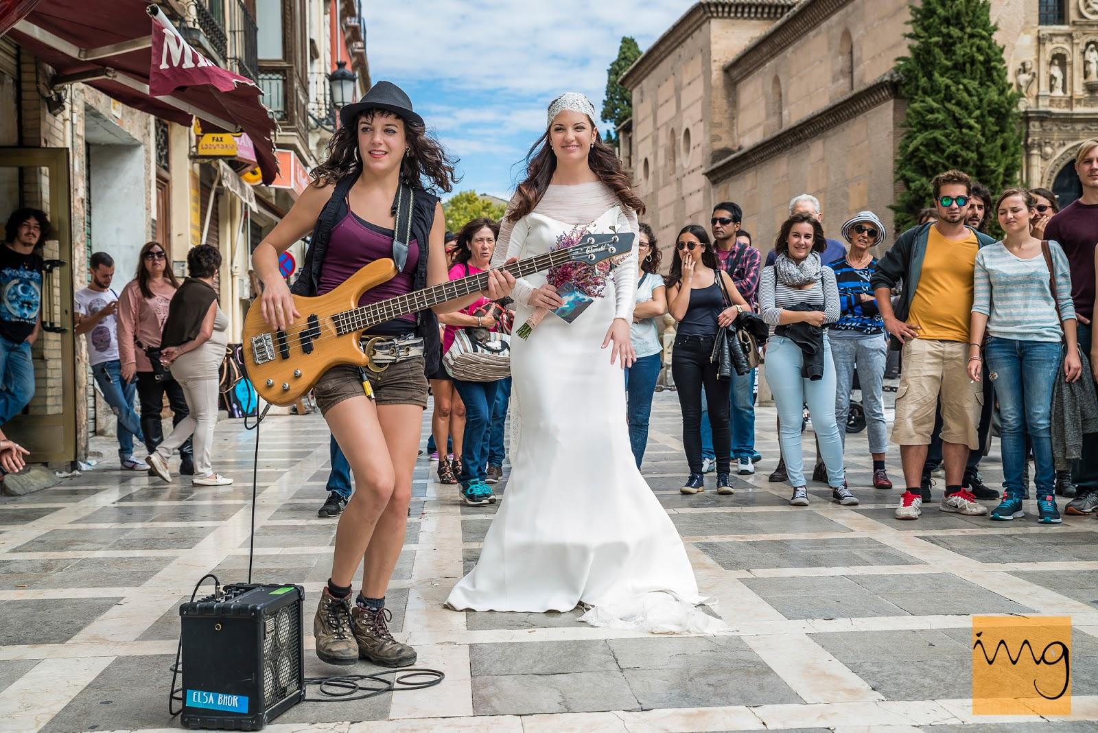 Fotografía de boda en Granada, Arte y gracia