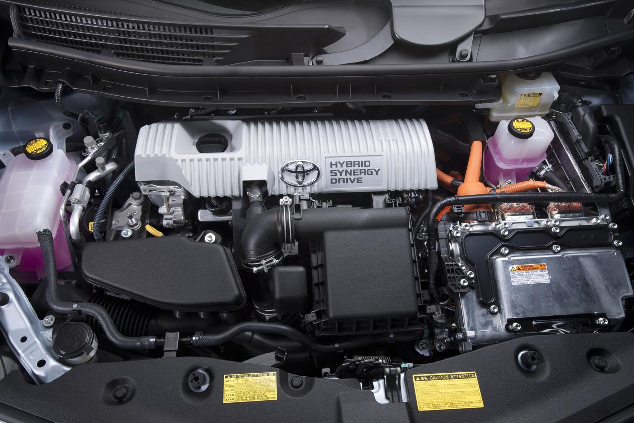 2017 Toyota Prius V Engine Specs