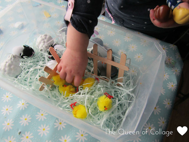 F is for Farm Sensory Play