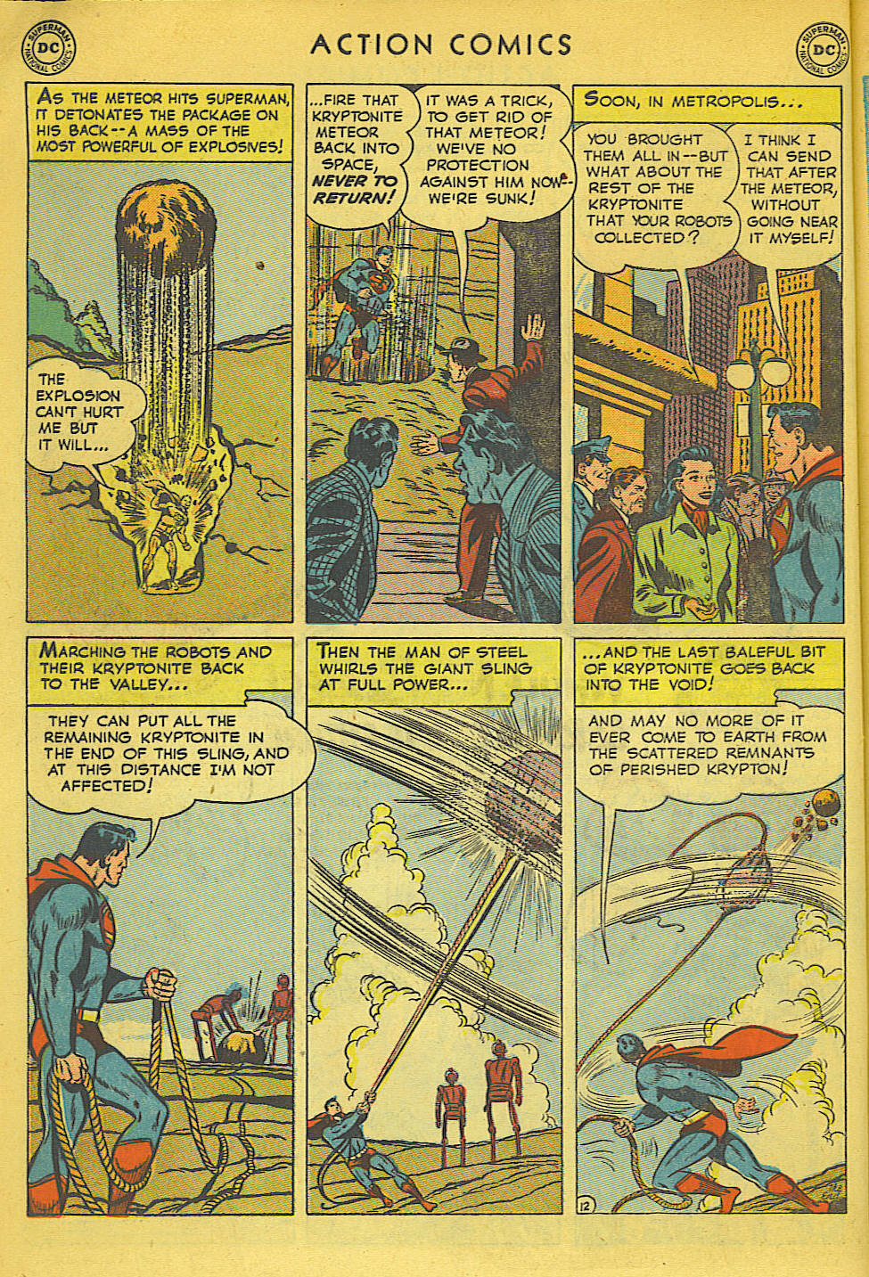 Read online Action Comics (1938) comic -  Issue #158 - 13