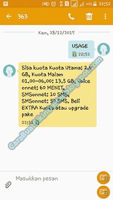 Cara Cek Kuota Internet Indosat oOredOo