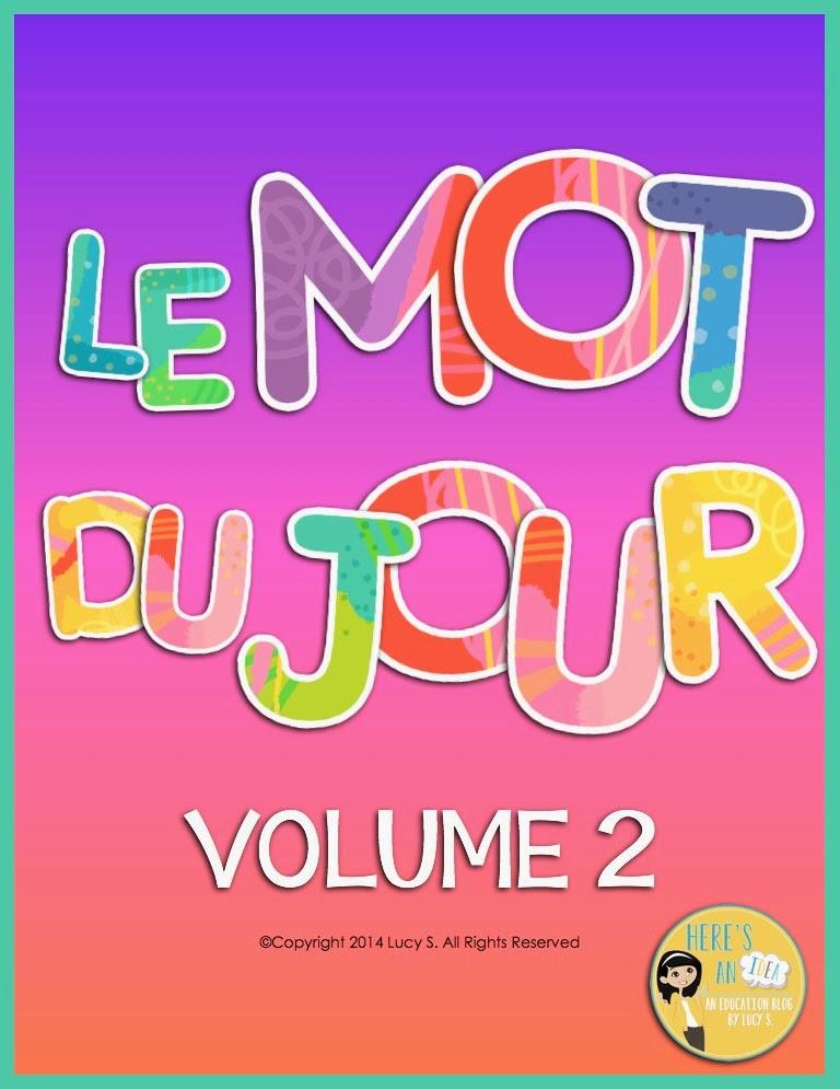 Le Mot du Jour - Volume 2