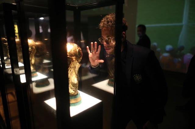 Antes de viagem a Londres, Neymar se diz bem e ansioso para estreia na Copa