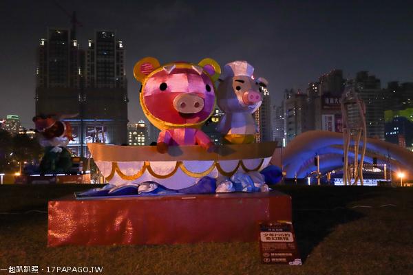 2019中台灣元宵燈會2/16-2/24|福滿迎豬|文心森林公園|精彩非凡一定要來