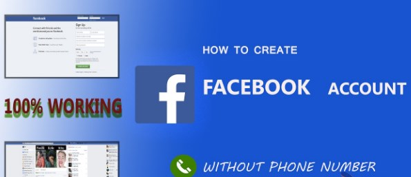 Sign up facebook without phone number