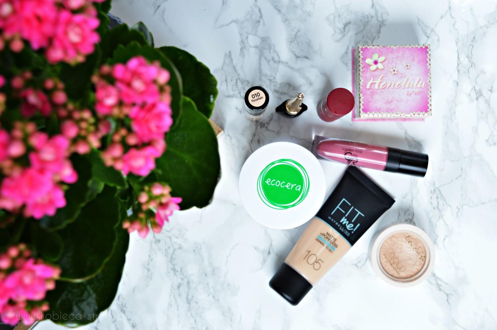 Złota 7 produktów do makijażu