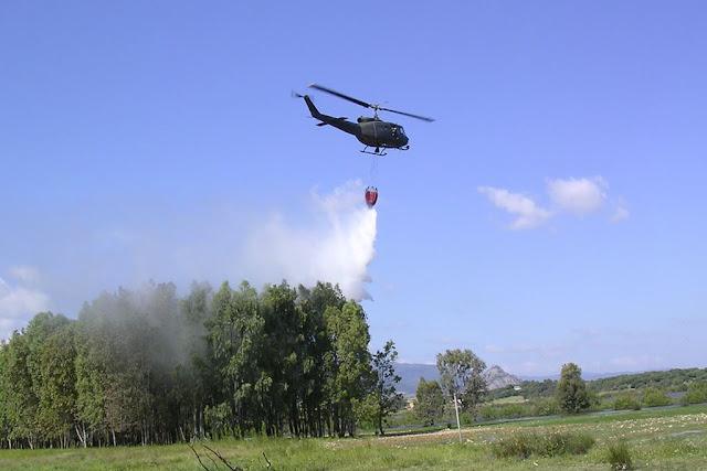 Elicotteri AVES campagna antincendio 2018