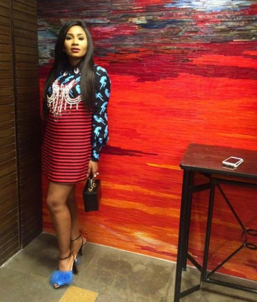 Governor's daughter steps out in N1.5million dress