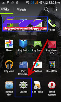 cara menghidupkan sinyal wifi hotspot android