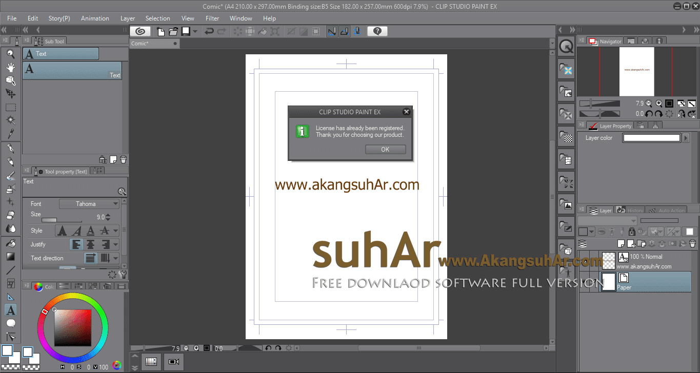 Gratis Download CLIP STUDIO PAINT EX Full Crack Terbarau, CLIP STUDIO PAINT EX Full Keygen, CLIP STUDIO PAINT EX Full Patch