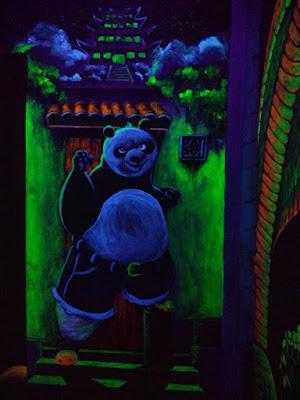 槟城时光隧道,3D荧光壁画
