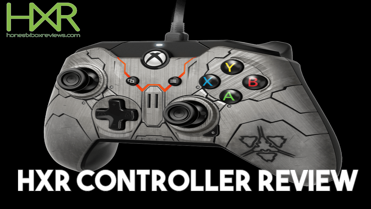 HXR Controller Review - PDP Halo Wars 2 Banished Wired Controller