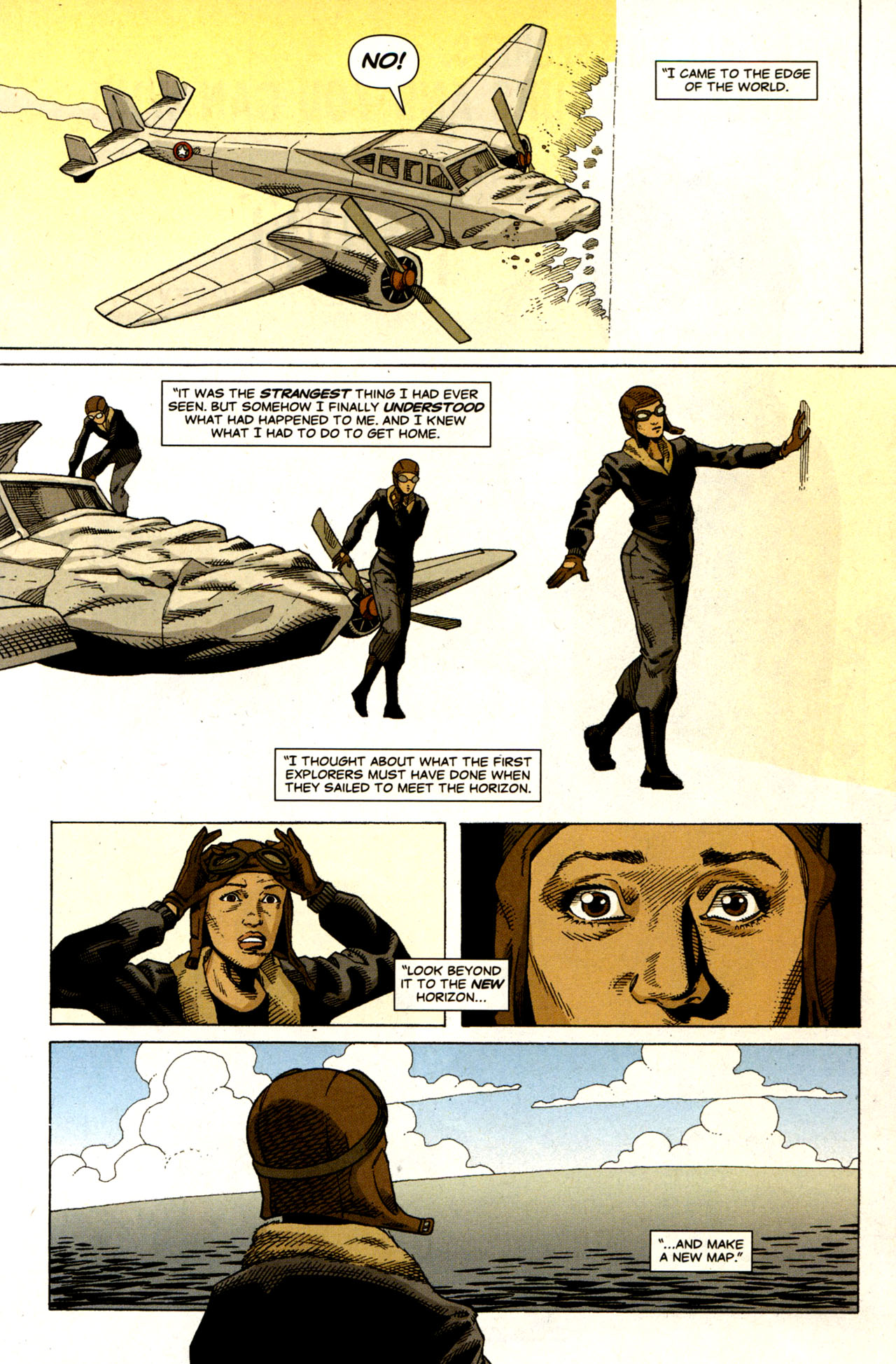 Read online Air comic -  Issue #6 - 9