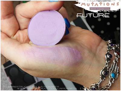 review FUTURE blush ombretto - SWATCHES Collezione Mutations -Neve cosmetics