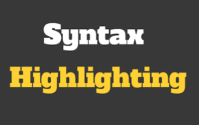 Adding Specific Code Syntax Highlighter For Blogger
