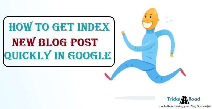 how to index blog post quickly