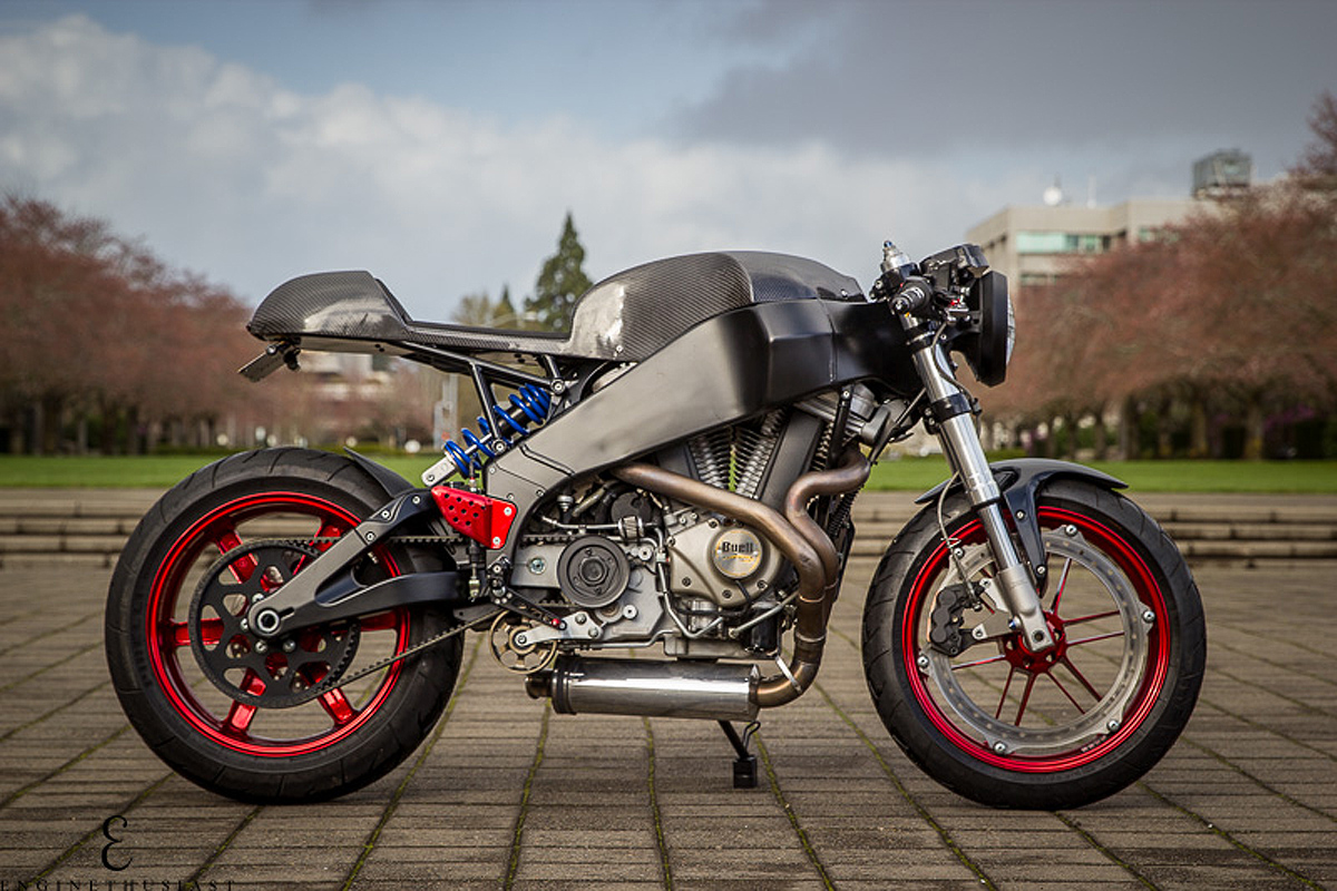 Buell Front End On Cafe Racer